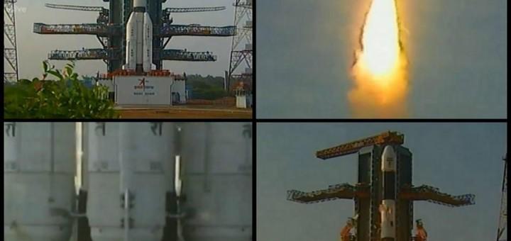 Il lancio di GSLV-D5. Credit: ISRO.