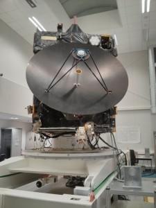 Modello ingegneristico di Rosetta presso l'ESOC. (c) M.Zambianchi