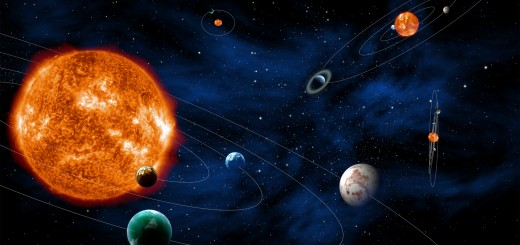 Rappresentazione artistica della missione PLATO. (c) ESA/C.Carreau