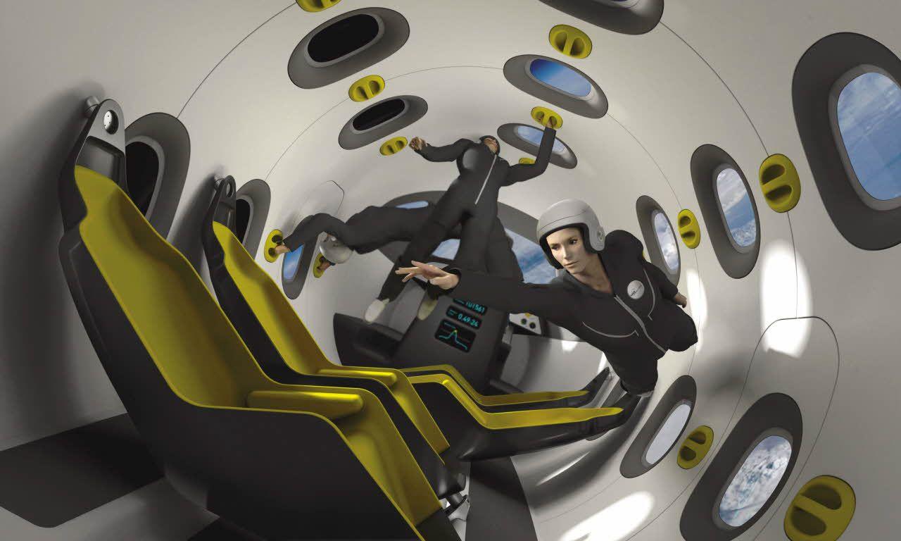 Rappresentazione artistica dell'interno. Credit: EADS/Airbus Group