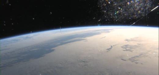 Un fotogramma del documentario First Orbit sul volo di Yuri Gagarin. Credit: The Attic Room