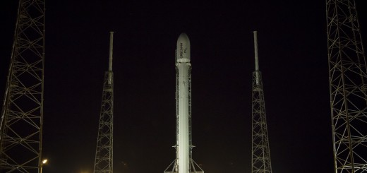 Falcon 9 in rampa per la missione Orbcomm OG2 (SpaceX)