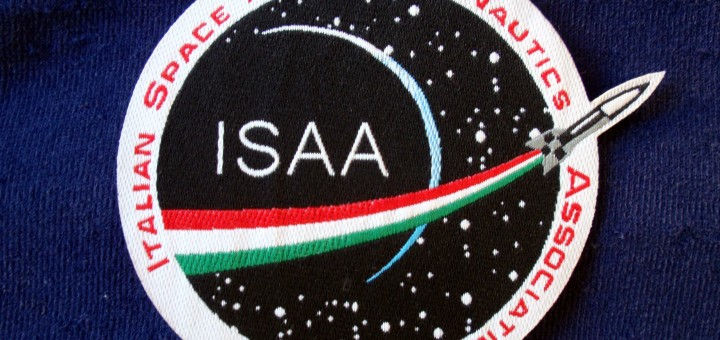 Una patch dell'Associazione ISAA. Credit: Filippo Magni