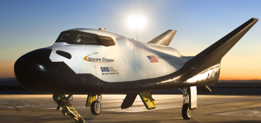 SNCs-Dream-Chaser-on-Runway-at-NASAs-Dryden-Flight-Research-Center-at-Dawn_Profile
