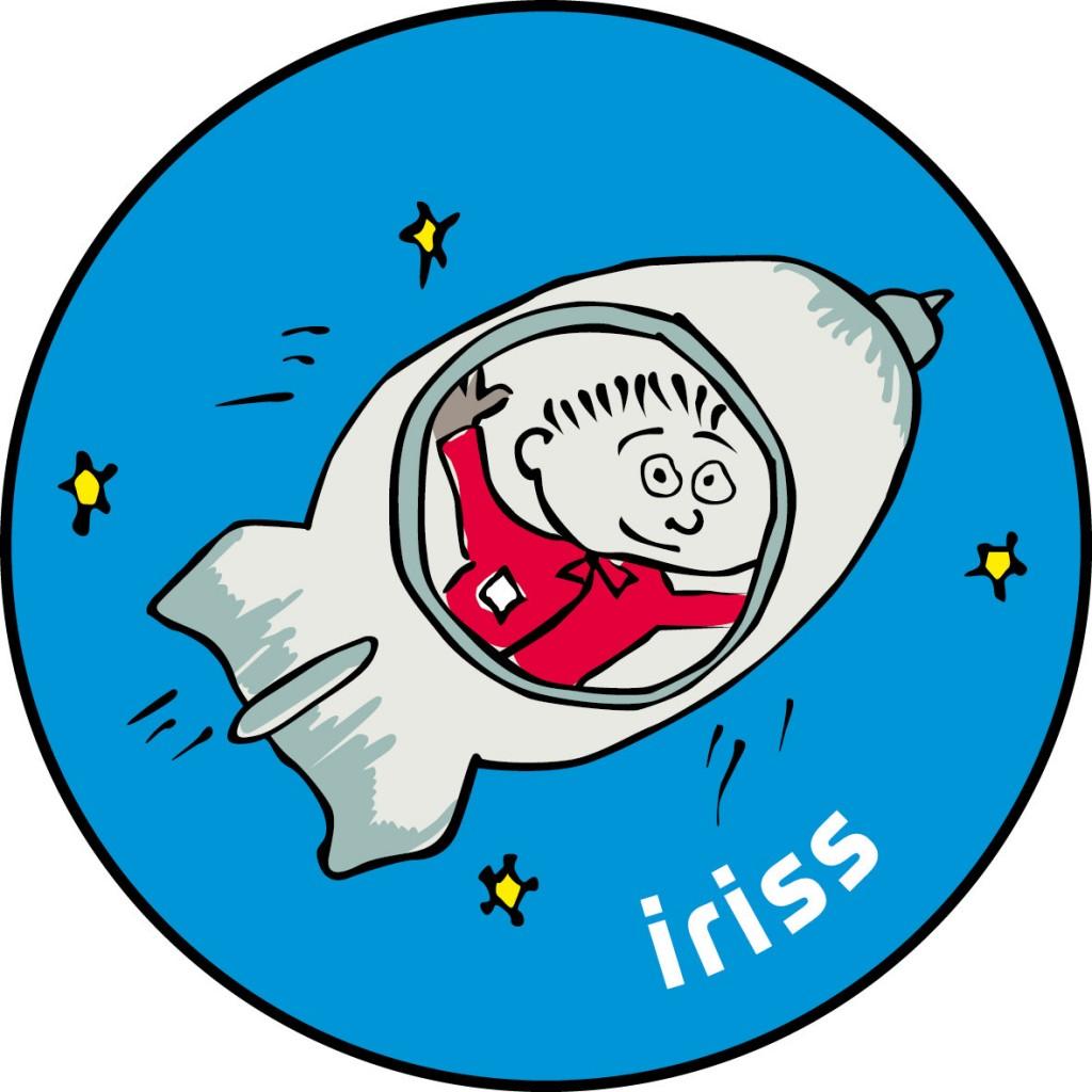 Il logo del programma educativo della missione iriss di Andreas Mogensen. Credit: ESA
