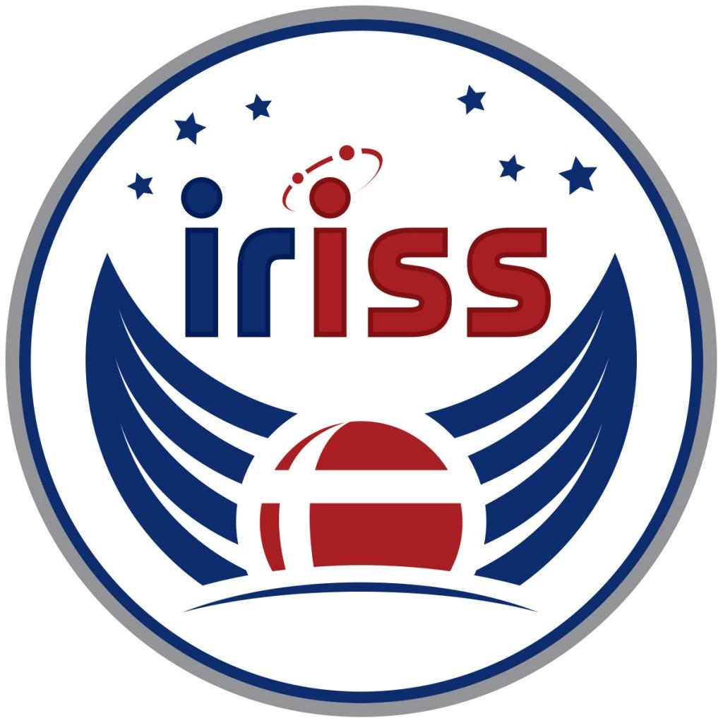 Il logo della missione iriss di Andreas Mogensen. Credit: ESA