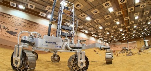 Prototipo del Rover ExoMars (Credit: Airbus Defence and Space)