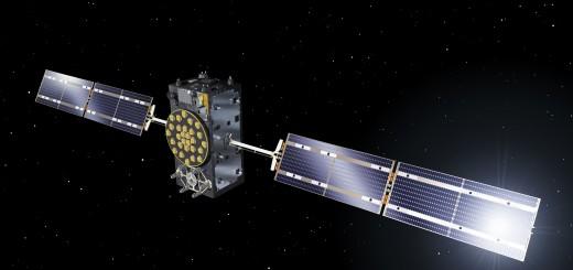 Una rappresentazione artistica di un satellite Galileo Full Operational Capability. (C) ESA–J. Huart, 2014