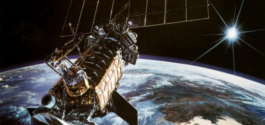 Un satellite DMSP in una immagine dell'USAF.
