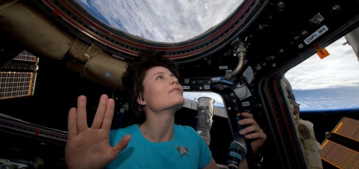 """Of all the souls I have encountered.. his was the most human"" Thx @TheRealNimoy for bringing Spock to life for us - © astrosamantha on flickr/twitter"