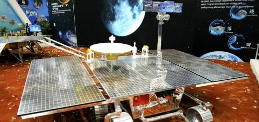 Prototipo di rover marziano esposto al China International Industry Fair di Shanghai nel 2014. Credit: Xinhua.