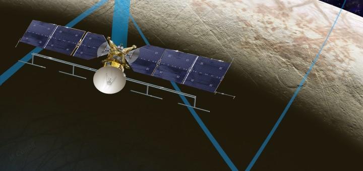 Europa Clipper. Credit: NASA/JPL