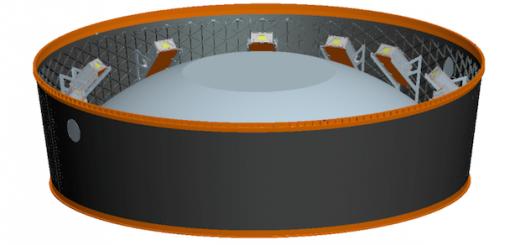 Anello di dispiegamento cubesats di SLS (copyright NASA)