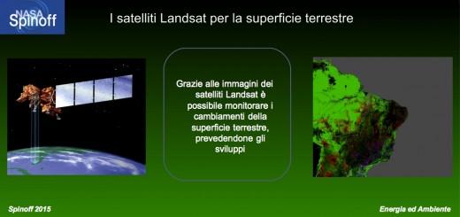 I satelliti Landsat permettono di mappare la superficie terrestre © NASA / Veronica Remondini