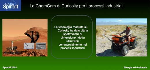 ChemCam di Curiosity per gli spettrometri di Terra © NASA / Veronica Remondini / Credits immagine Curiosity: CEA