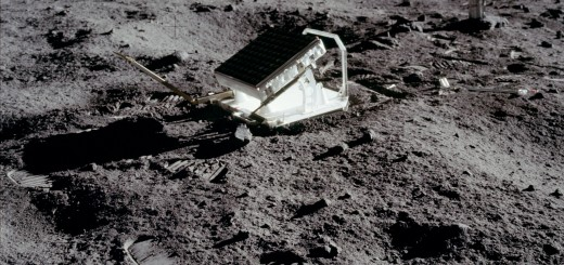 Il Lunar Laser Ranging Experiment (LLRE) di Apollo 11. Credit: NASA
