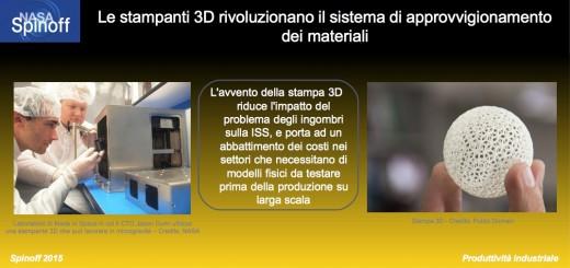 Stampa 3D per approvvigionamento materiali @NASA / Veronica Remondini