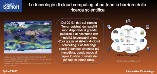 Le tecnologie di cloud computing abbattono le barriere della ricerca scientifica - presentazione © NASA / Veronica Remondini