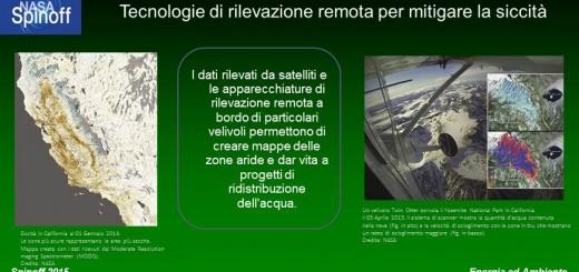 Tecnologie di rilevazione remota per mitigare la siccità © NASA / Veronica Remondini