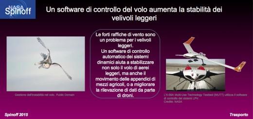 Un software di controllo del volo aumenta la stabilità dei velivoli leggeri  © NASA / Veronica Remondini