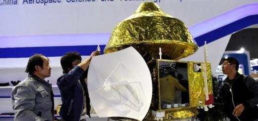 Il modello della sonda che la Cina invieràsu Marte nel 2020 (C) news.cn