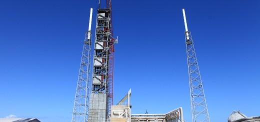 La nuova torre di accesso all'SLC-41. Credit: NASA/Kim Shiflett