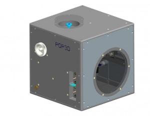 Una rappresentazione di POP3D di ASI. Credits: NASA