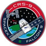 Patch CRS-9 © SpaceX