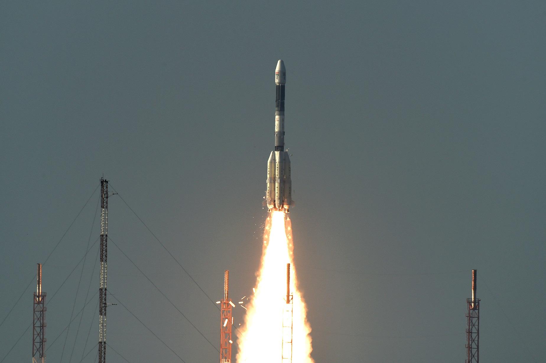 Terzo successo consecutivo per il il GSLV indiano