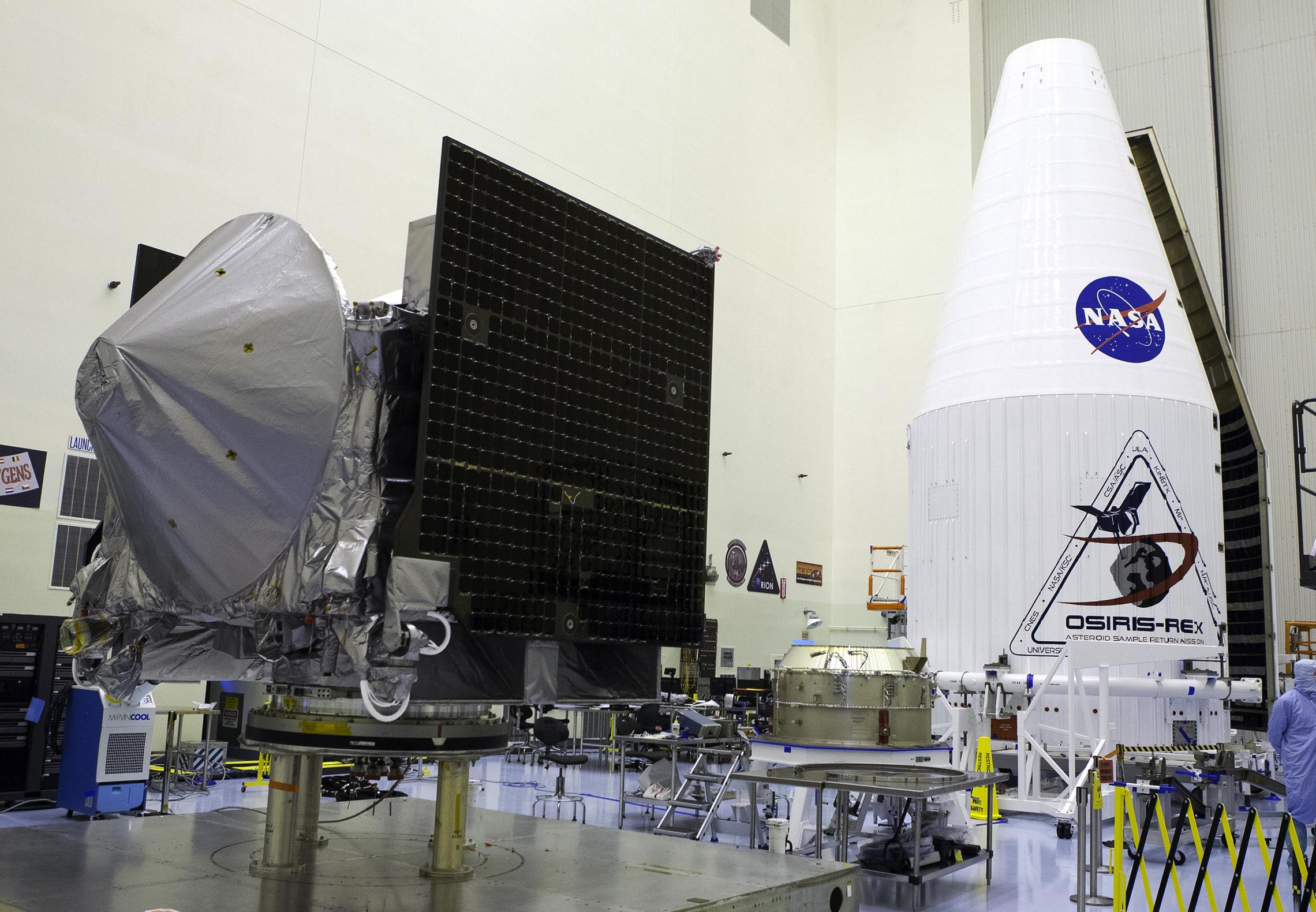 Tutto pronto per il lancio di OSIRIS-REx