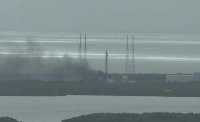[LIVE] Esplosione sulla rampa di SpaceX a Cape Canaveral