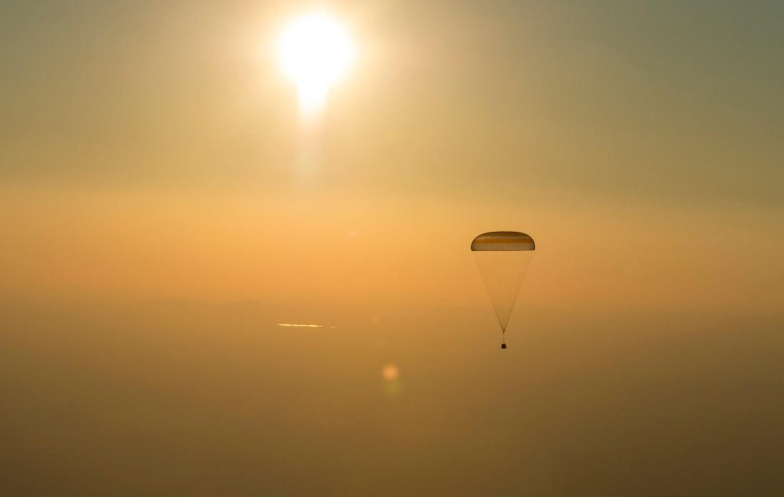 Expedition 48 rientrata sulla Terra
